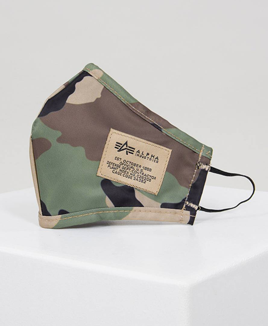 Alpha Industries Tactical Facemask  - Size: One Size