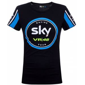 VR46 Sky Racing Team Women's T-Shirt Black Blue S