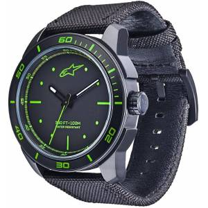 Alpinestars Tech Matte Black Watch Green One Size