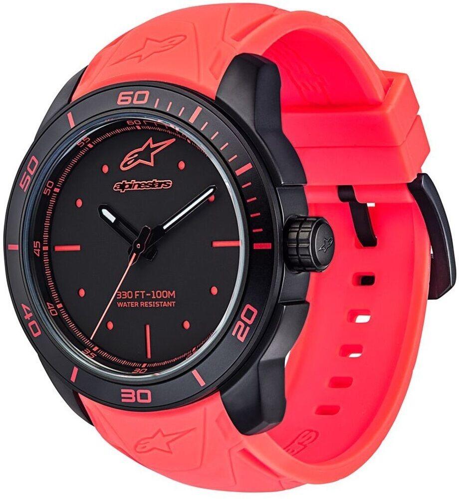 Alpinestars Tech Black Matte Watch Red One Size