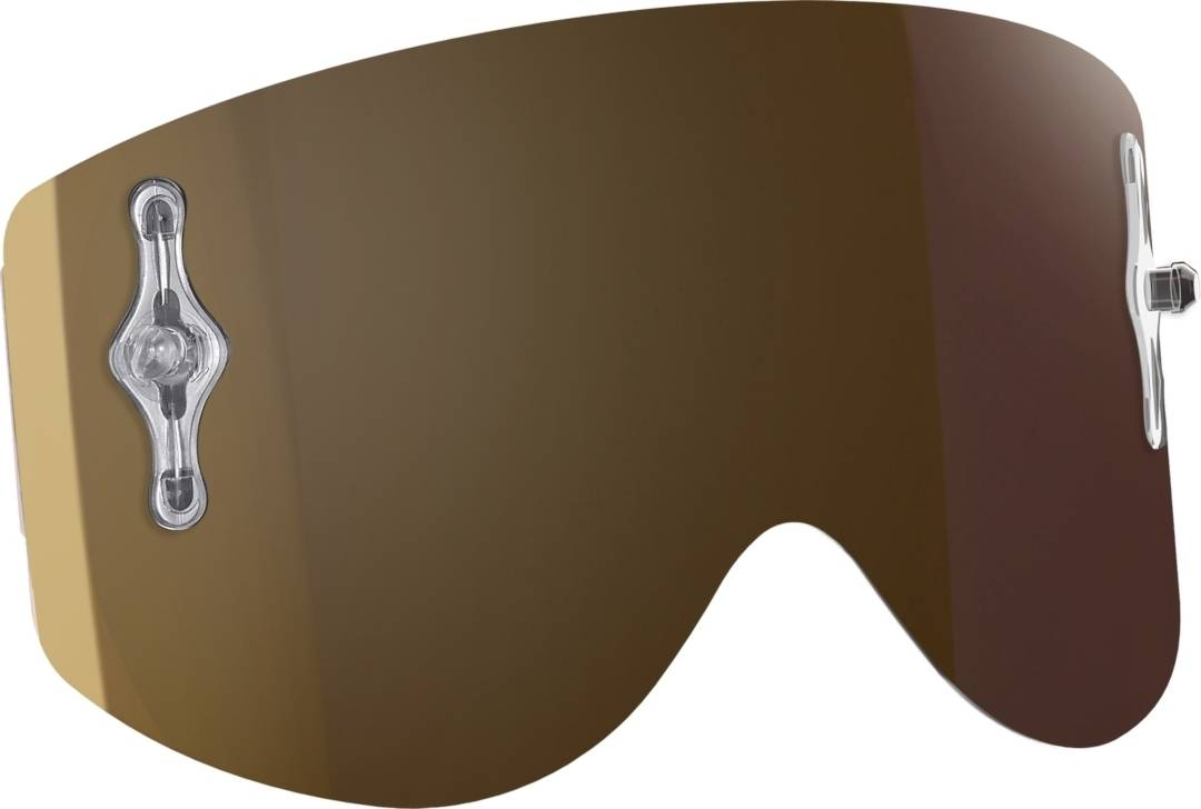 Scott Recoil Xi Works Chrome Replacement Lens Gold One Size
