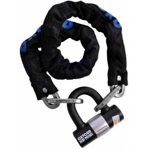 Oxford HD Chain Lock Black 100 cm