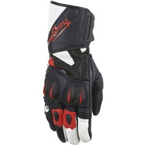 Furygan RG 18 Motorcycle Gloves Black White Red 2XL