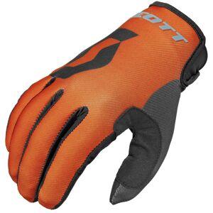 Scott 350 Track Gloves 2016 Black Orange M