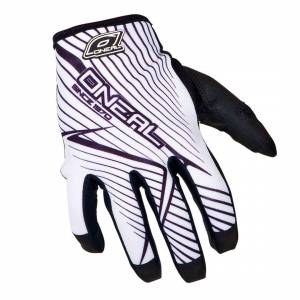 Oneal O´Neal Jump Race Gloves Black White 2XL