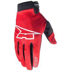 AXO Rookie Motocross Gloves Red 2XL
