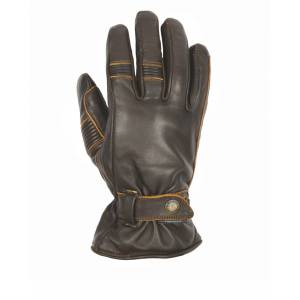 Helstons Boston Summer Motorcycle Gloves Brown 2XL