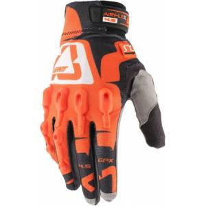 Leatt GPX 4.5 Lite Gloves Black White Orange S