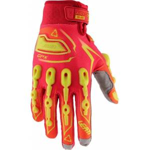 Leatt GPX 5.5 Lite Gloves Red Yellow S