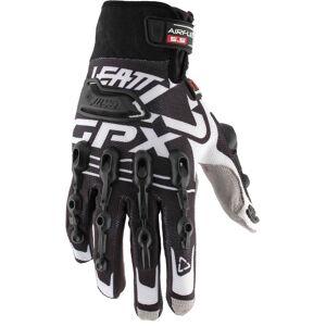 Leatt GPX 5.5 Windblock Gloves Black White XS