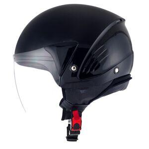 KYT Cougar Plain Jet Helmet Black S