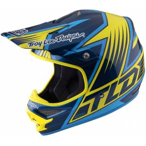 Lee Troy Lee Designs Air Vengeance Blue Yellow L