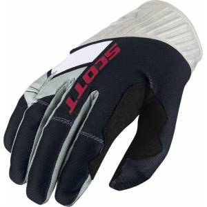 Scott 450 Podium Motocross Gloves 2017 Black White L