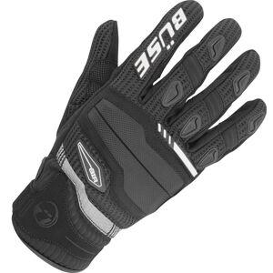 Büse Fresh Gloves Black White M L
