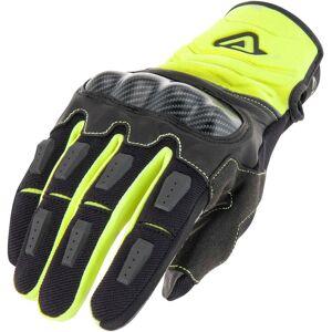 Acerbis Carbon G 3.0 Motocross Gloves Black Yellow XL