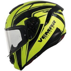 Vemar Hurricane Spark Helmet Black Yellow M