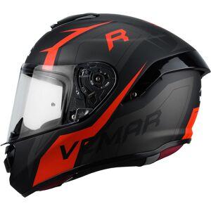 Vemar Hurricane Revenge Helmet Black Red XL