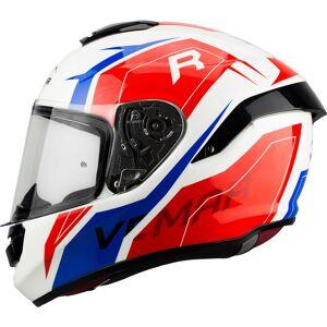Vemar Hurricane Revenge Helmet White Red Blue XS