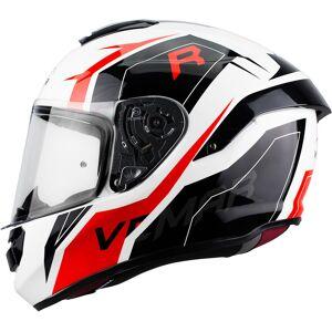 Vemar Hurricane Revenge Helmet Black White Red 2XL