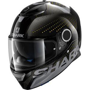Shark Spartan Carbon Cliff Helmet Black Yellow XL