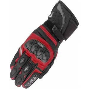 Orina Splash Gloves Black Red S