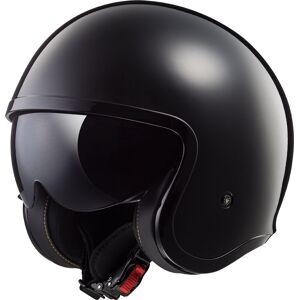 LS2 OF599 Spitfire Jet Helmet Black XS