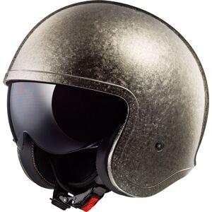 LS2 OF599 Spitfire Jet Helmet Grey Silver S