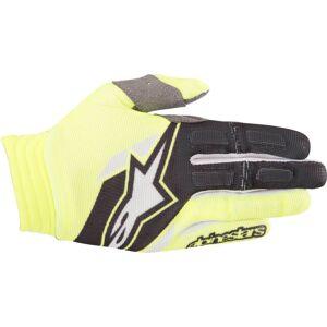 Alpinestars Aviator Gloves 2018 Black Yellow 2XL