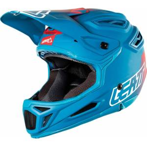 Leatt DBX 5.0 V26 Composite Bicycle Helmet Red Blue XL