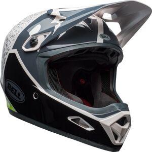 Bell Transfer-9 Downhill Helmet Black White Green L