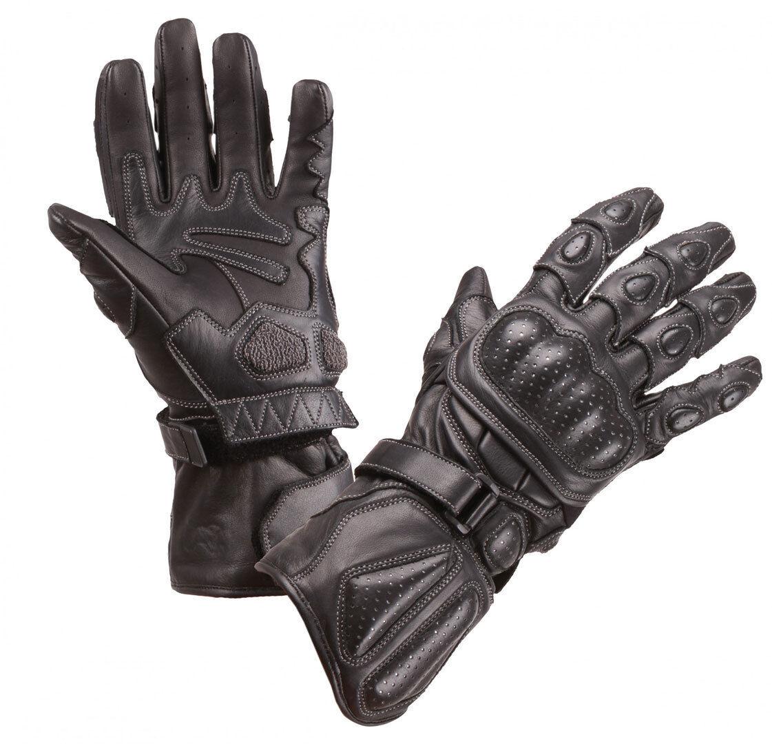 Modeka Racing Pro Motorcycle Gloves Black L