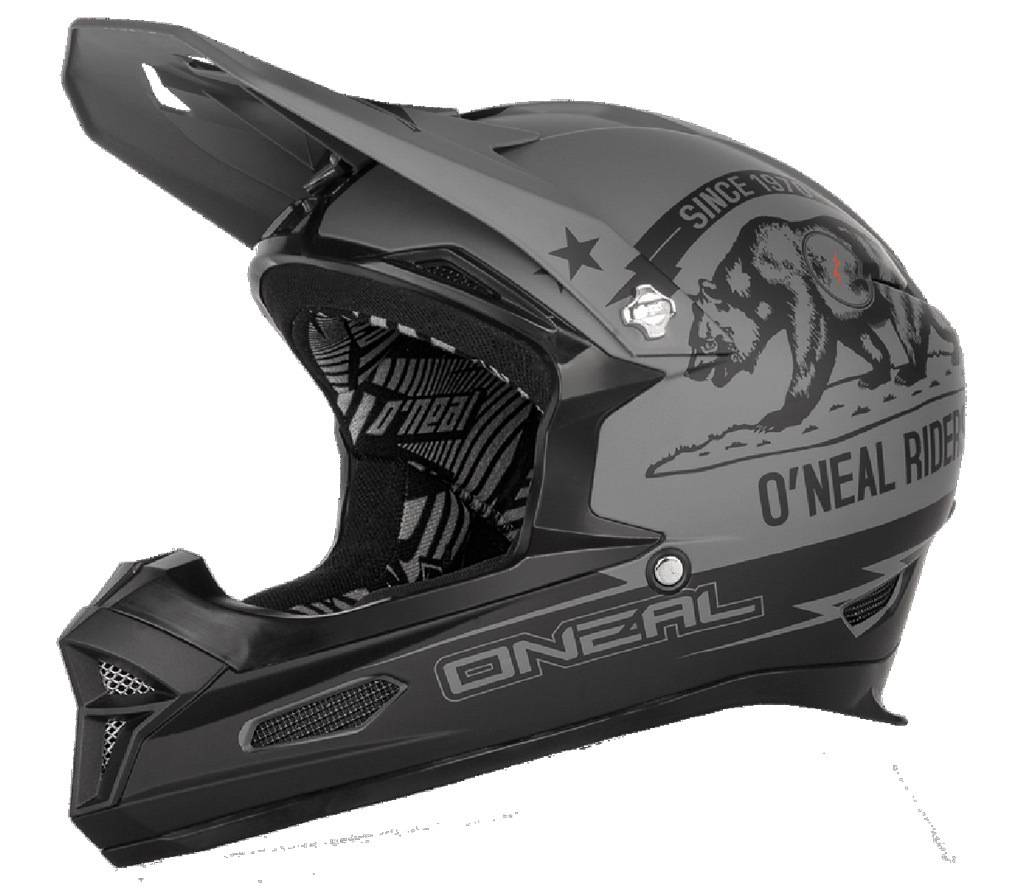 Oneal O´Neal Fury RL California Downhill Helmet Black Grey M