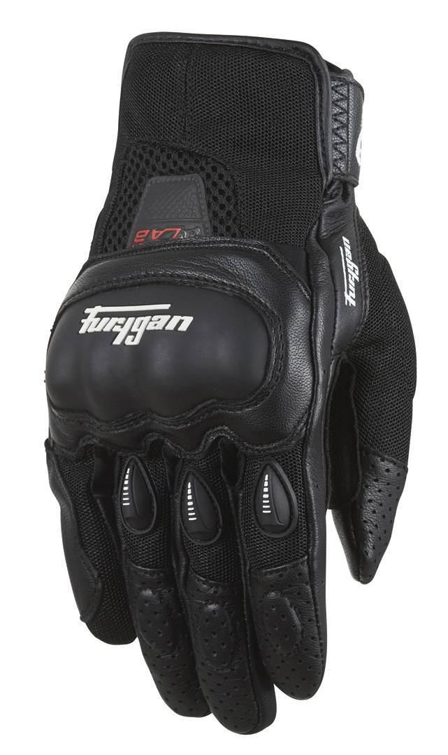 Furygan Lancaster Motorcycle Gloves Black 3XL