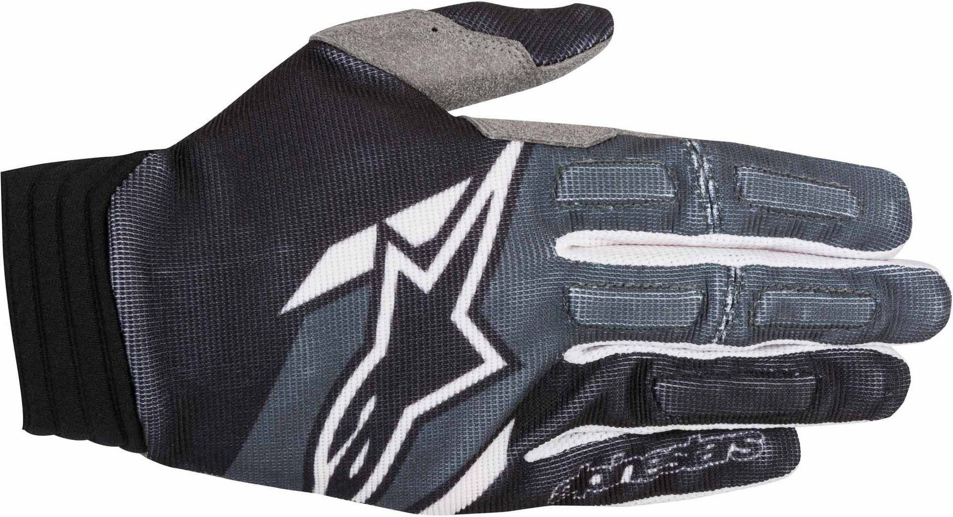 Alpinestars Aviator Gloves 2018 Black Grey White S