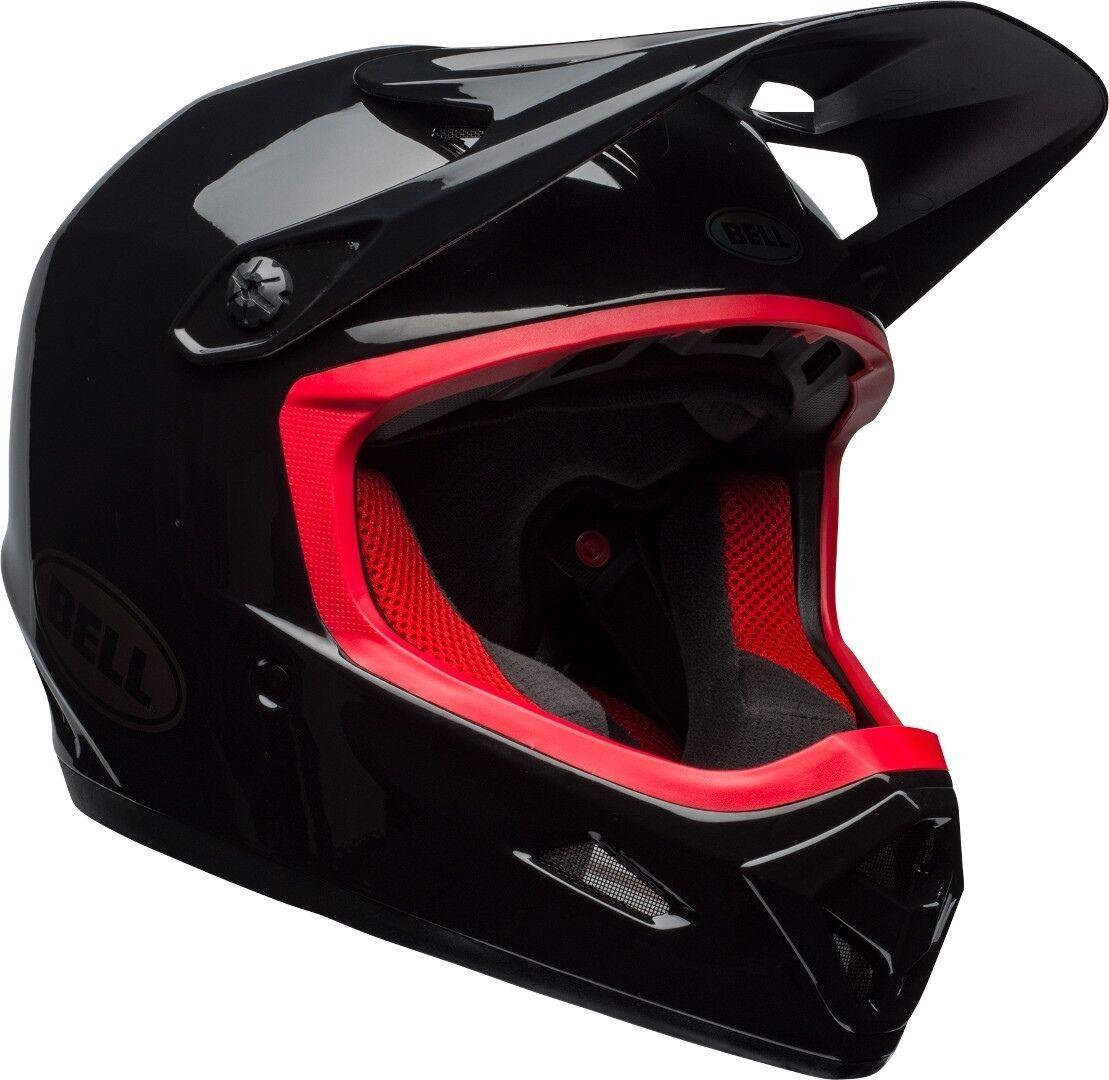 Bell Transfer-9 Downhill Helmet Black Red S