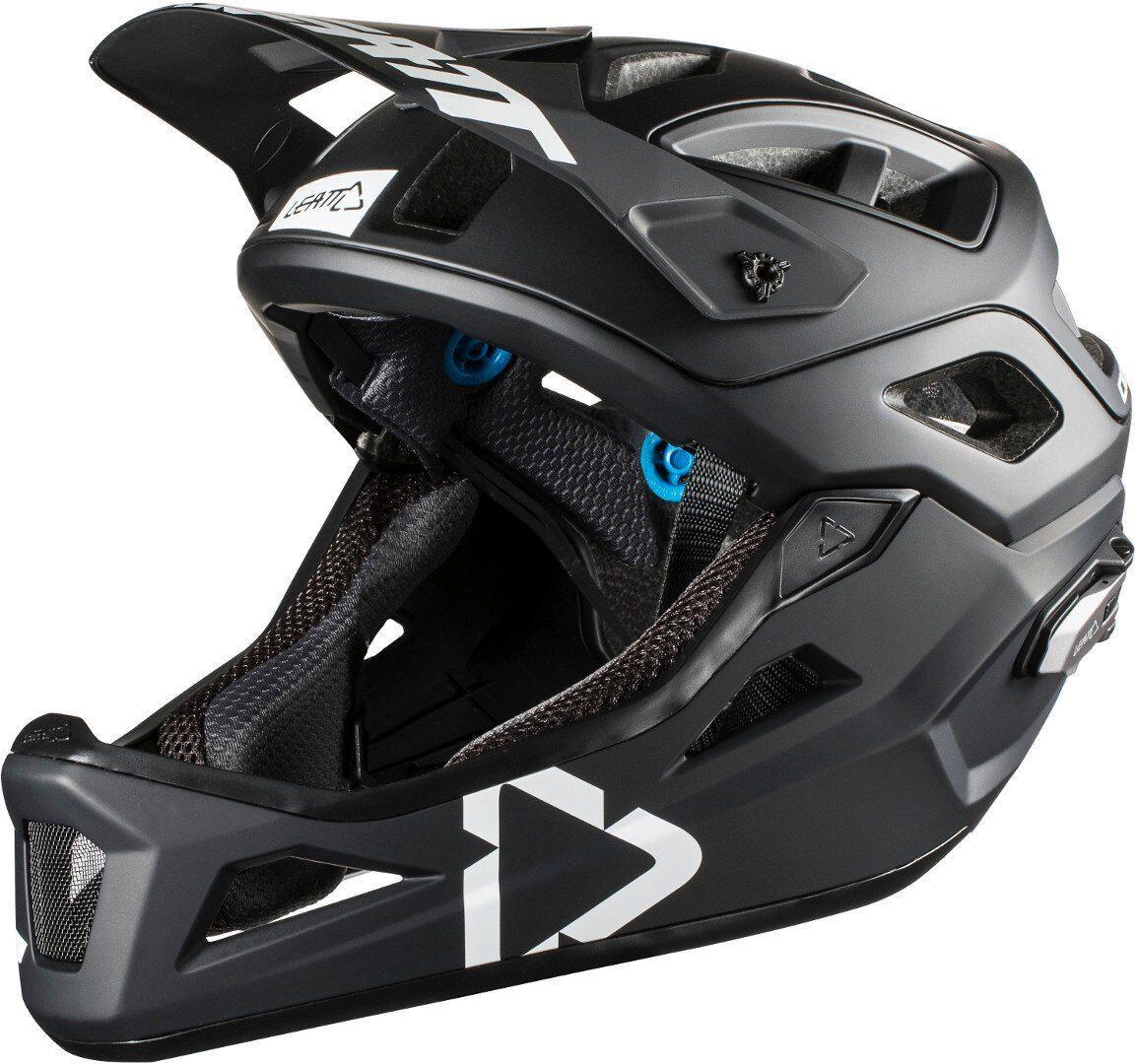Leatt DBX 3.0 Enduro V2 Bicycle Helmet Black White L