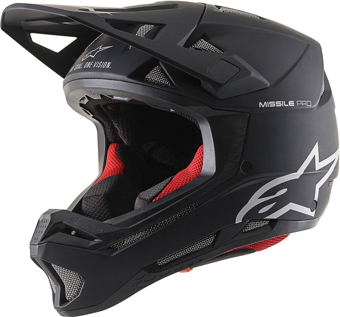 Alpinestars Missile Pro Solid Downhill Helmet Black XS
