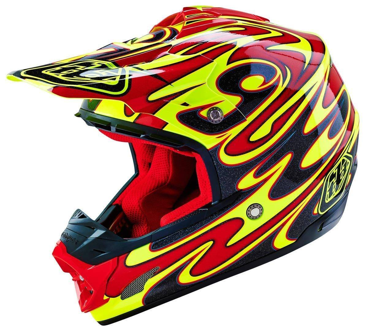 Lee Troy Lee Designs SE3 Reflection Motocross Helmet  - Size: Small