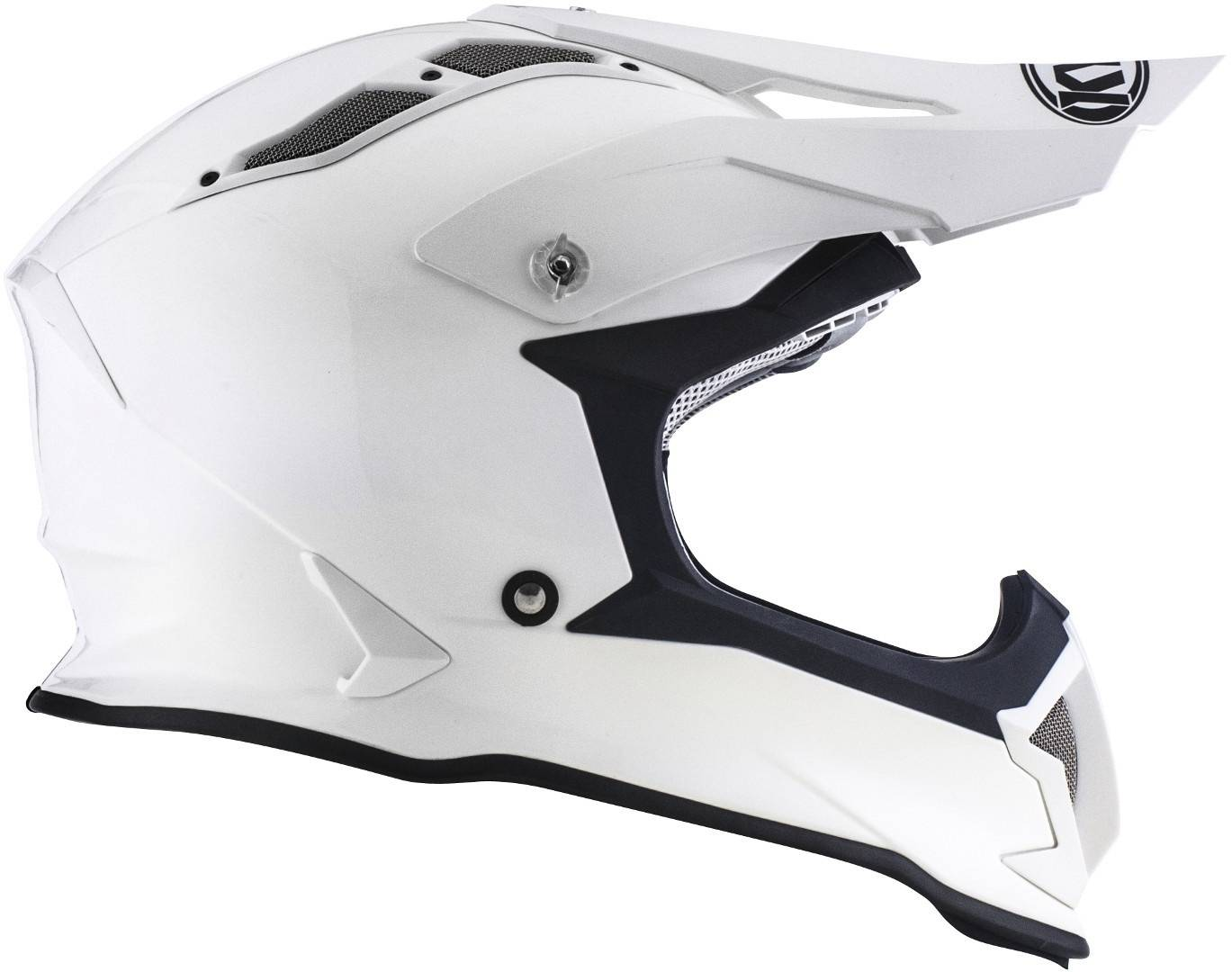 KYT Strike Eagle Plain Motocross Helmet  - Size: 2X-Large