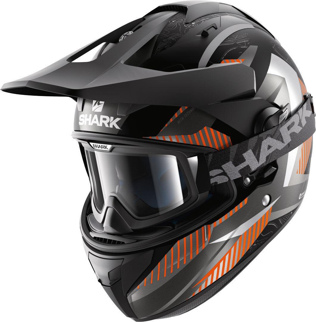 Shark Explore-R Peka Mat Helmet  - Size: Medium
