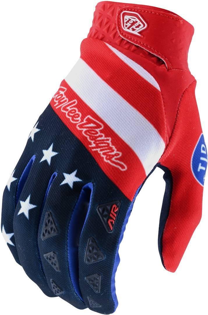 Lee Troy Lee Designs Air Stars & Stripes Motocross Gloves  - Size: 2X-Large