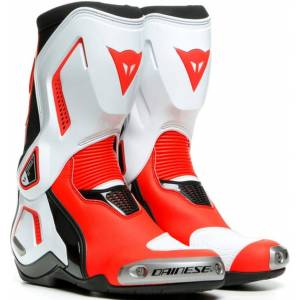 Dainese Torque 3 Out Ladies Motorcycle Boots Black White Red 40