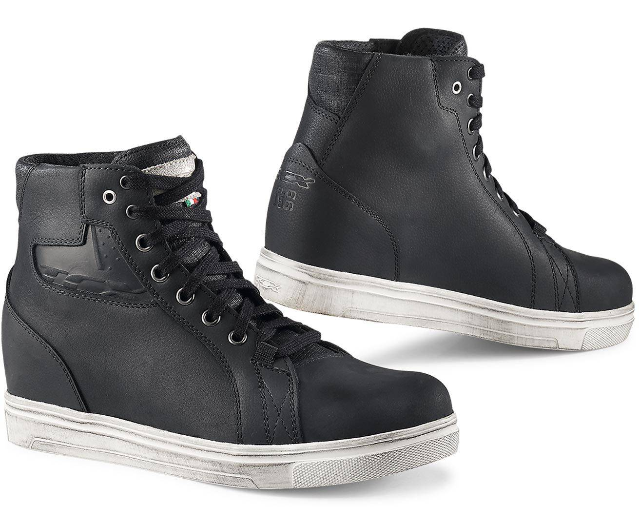TCX Street Ace waterproof Ladies Motorcycle Shoes Black 38