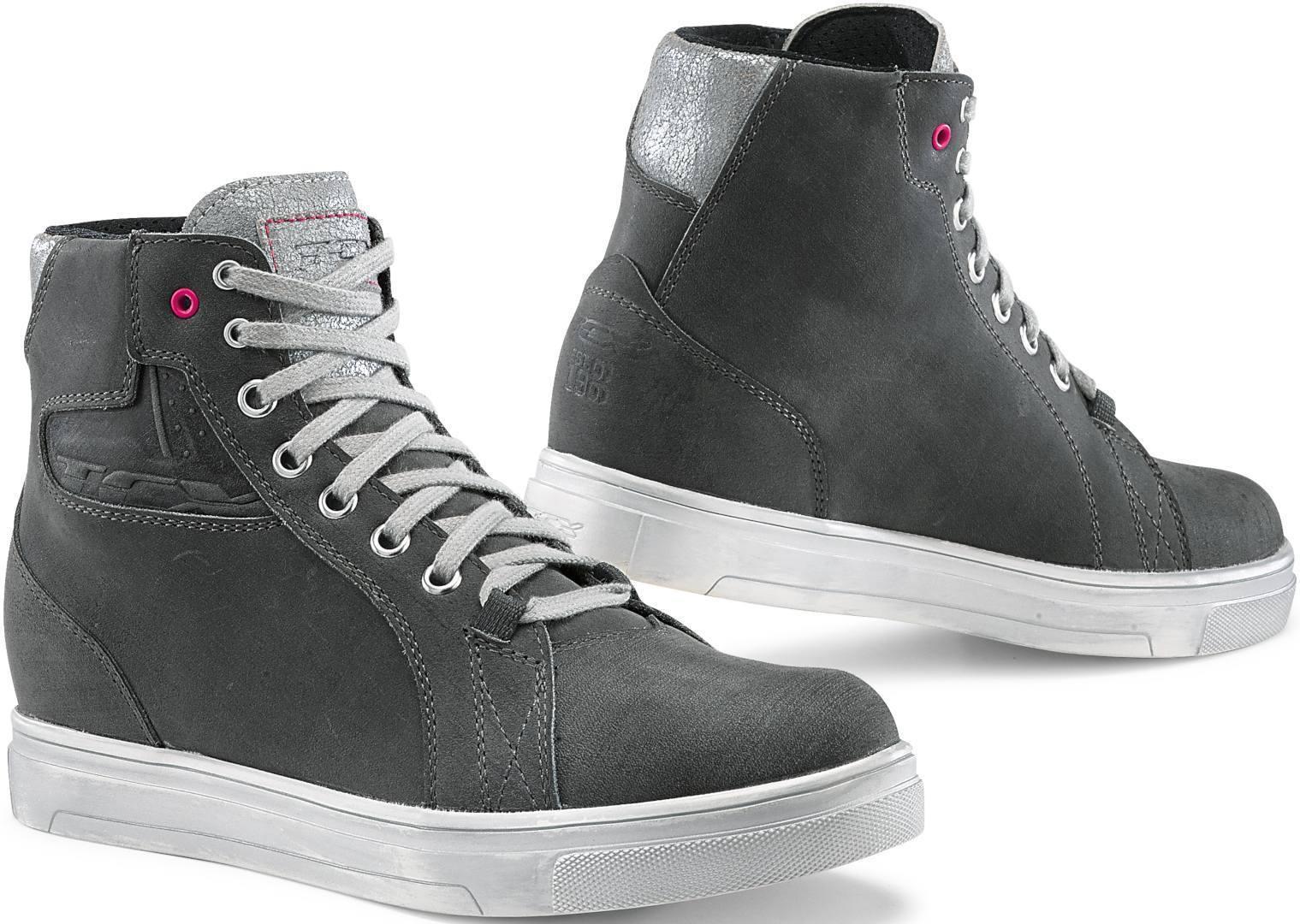 TCX Street Ace waterproof Ladies Motorcycle Shoes Grey 36