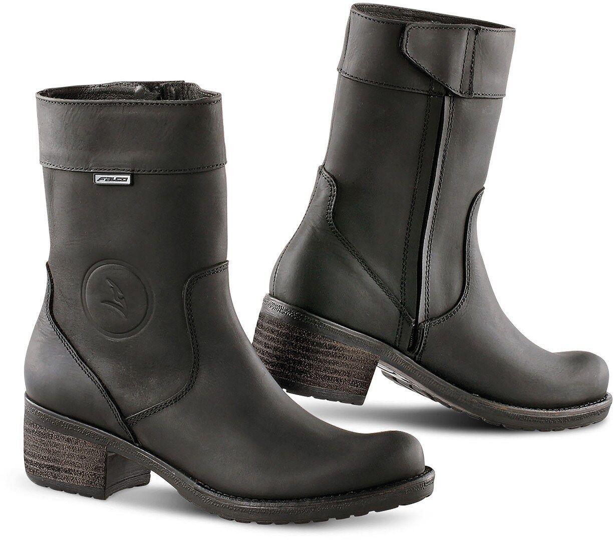 Falco Ayda 2 Ladies Motorcycle Boots Black 38