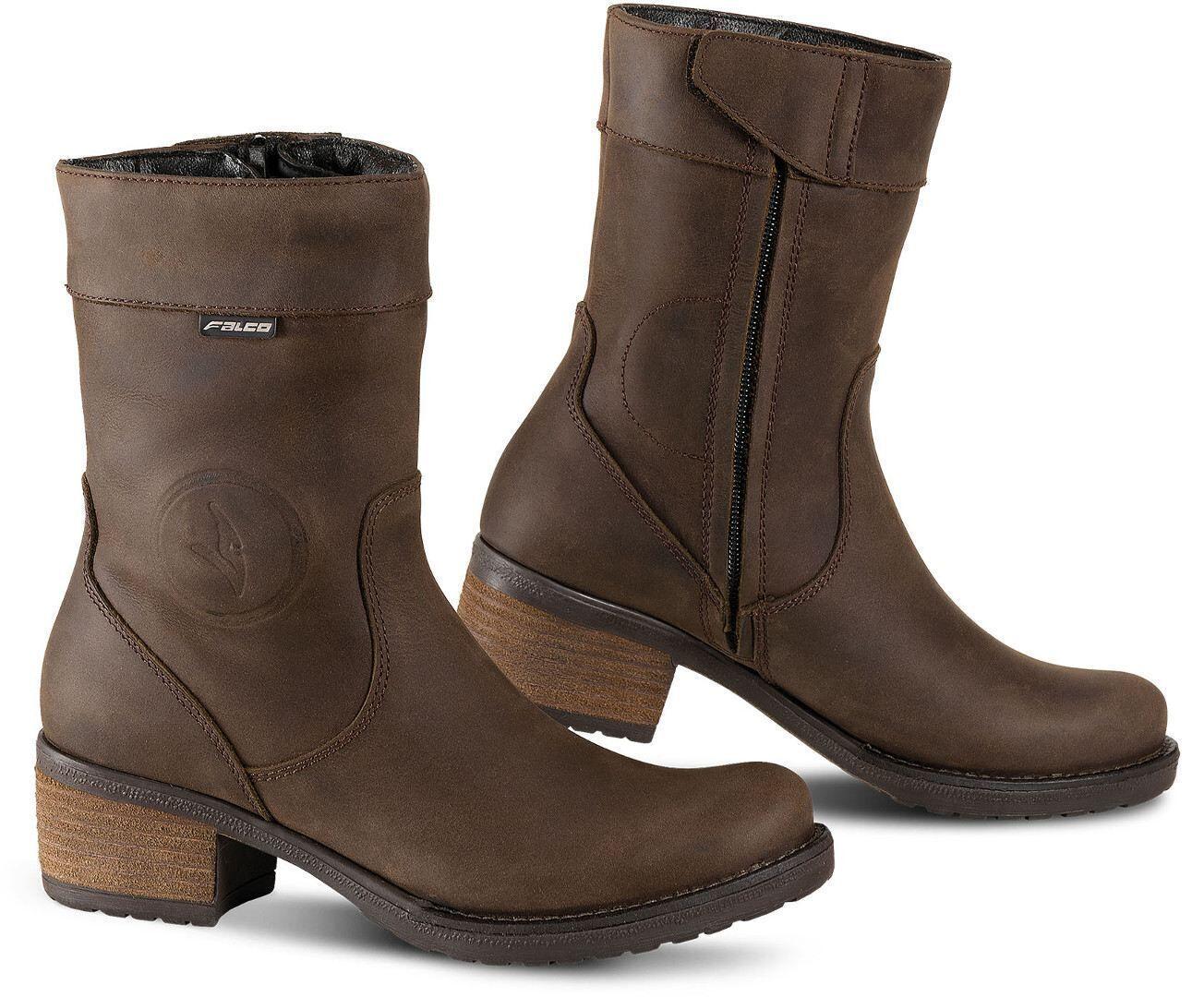 Falco Ayda 2 Ladies Motorcycle Boots Brown 39