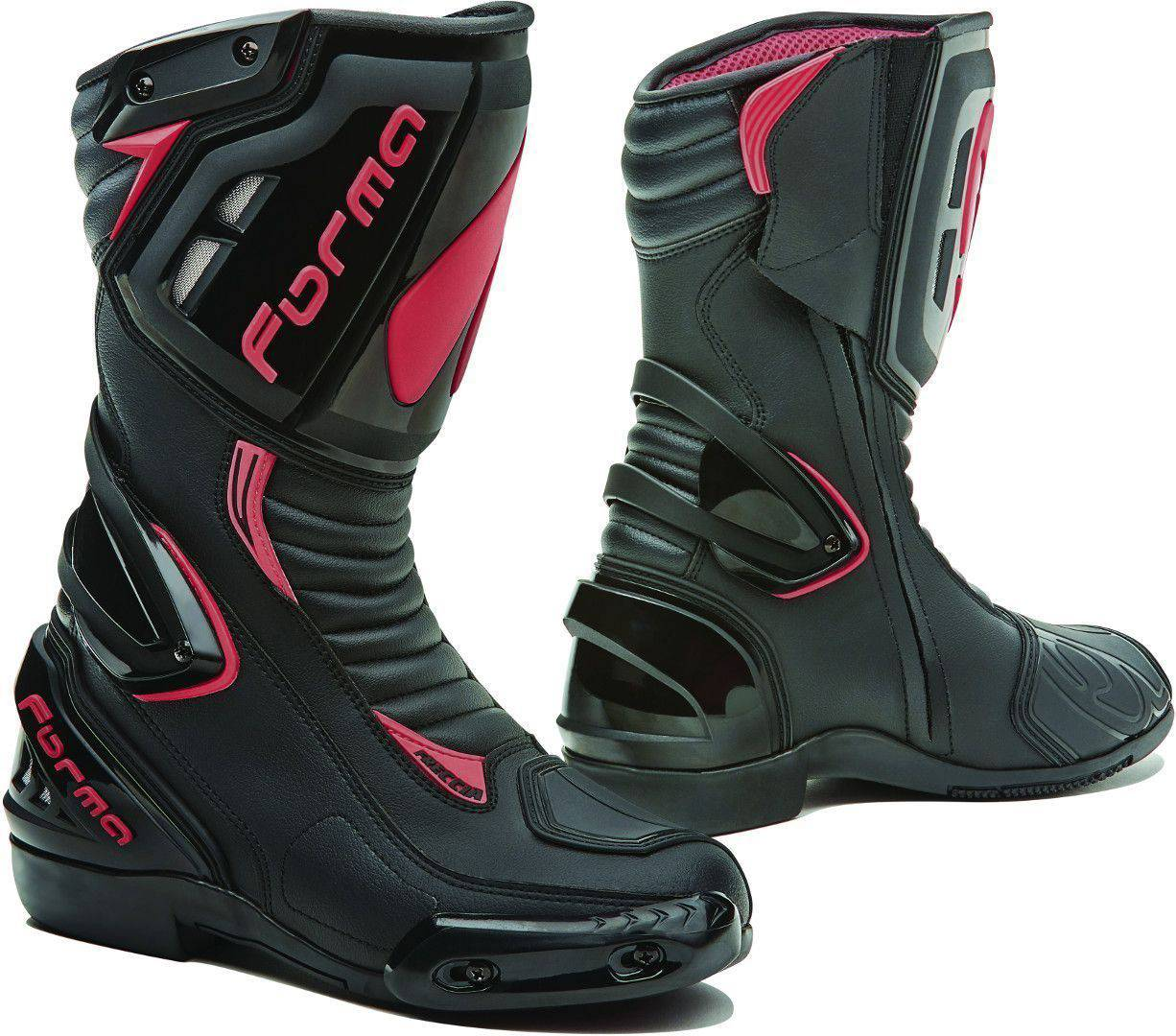 Forma Lady Freccia Ladies Motorcycle Boots Black Pink 38