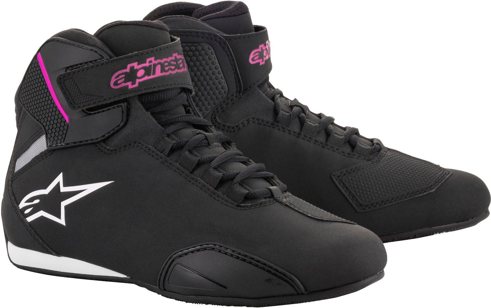 Alpinestars Stella Sektor Ladies Motorcycle Shoes Black Pink 36