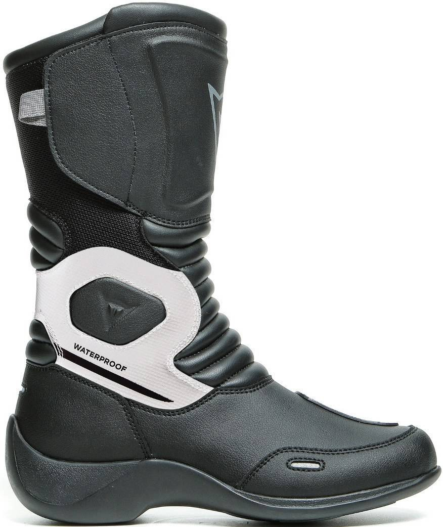 Dainese Aurora D-WP waterproof Ladies Motorcycle Boots Black White 40