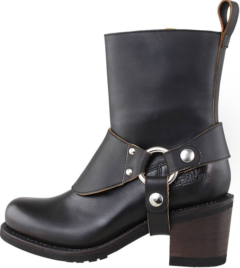 Rokker Boot Collection Freeway Ladies Motorcycle Boots Black 37